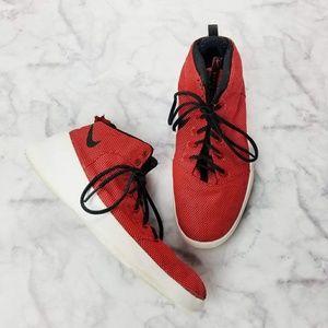 Nike|Hyperfr3sh Roshe Mid Basketball Sneakers
